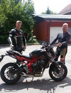 Wir freuen uns sehr über unsere neue Honda CB 650 F